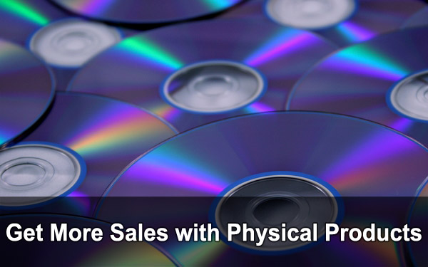 Get more sales with physical products