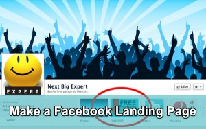 How to Create a Facebook Landing Page