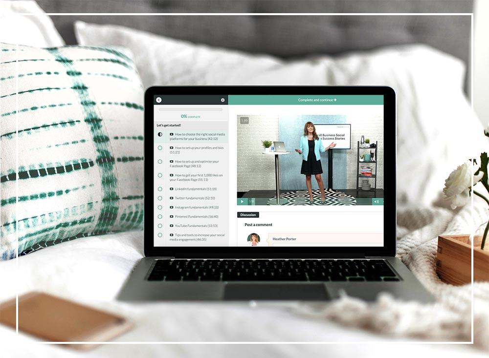 Heather Porter Social Media Course